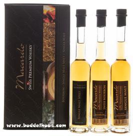 Macardo Swiss Whisky Set 3 x 0,10lt