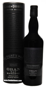 Game of Thrones Oban Bay Reserve The Night's Watch