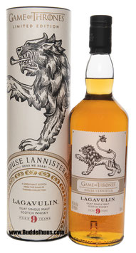 Game of Thrones Lagavulin 9 yo House Lannister