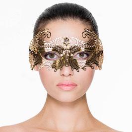 Raffinierte Venezianische Maske aus Metall