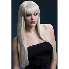 Langhaarperücke blonde Unschuld