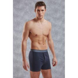 Doreanse Boxershort blau mit Knopf