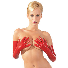Latexhandschuhe in Rot