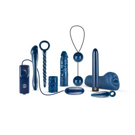 Vibrator Set in Blau
