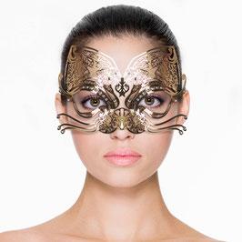 Venezianische Maske im Katzenstil