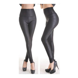 Leggings in Schwarz