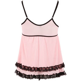 Babydoll Set in Pink