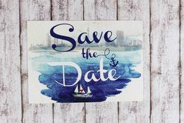 """Save the Date """"maritim"""""""