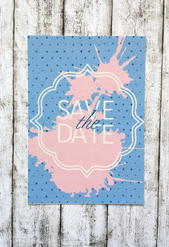 """Save the Date """"paint"""""""