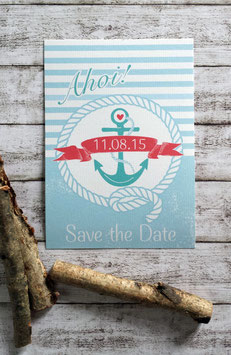 "Save the Date ""Ahoi"""