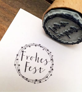 """Stempel """"Frohes Fest Sternenkreis"""""""
