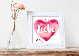 """Print """"Liebe"""""""