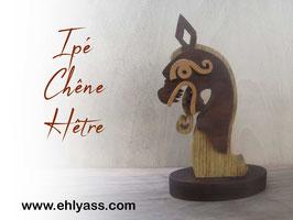 Sculpture viking Mini Drakkar