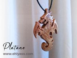 Amulette Dragon ailé