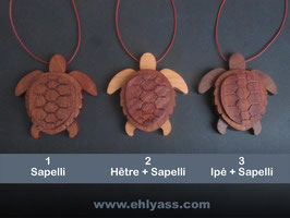 Suspension Tortue 3D