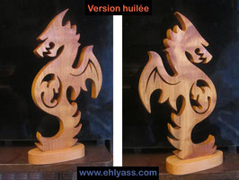 Sculpture Dragon enceinte