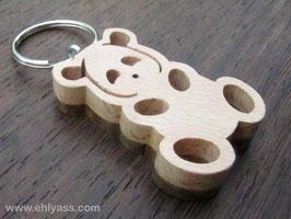 Porte-clés Panda (2 bois)