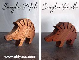 Sculpture Sanglier celte historique Mâle ou Femelle