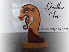 Sculpture viking Proue de Drakkar (SOLDES)