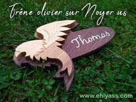 Plaque de porte Rapace (corbeau, aigle, faucon...)
