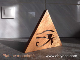 Sculpture Pyramide Œil égyptien