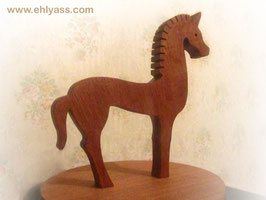 Sculpture Cheval celte