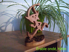Sculpture Lutin courant