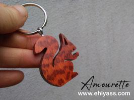 Porte-clé écureuil