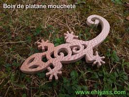 Sculpture murale Salamandre / gecko / margouillat