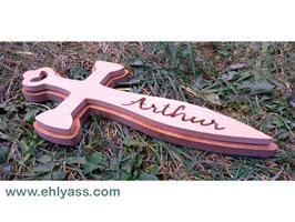 Plaque de porte Épée