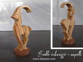 Sculpture Chèvre grecque d'inspiration historique