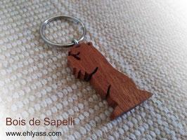 Porte-clé Marmotte