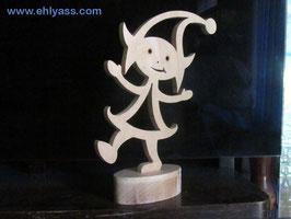 Sculpture Lutin dansant