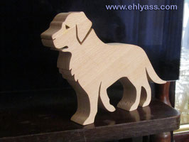 Sculpture Chien Labrador / Golden retriever