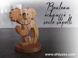 Sculpture petit Koala sur socle