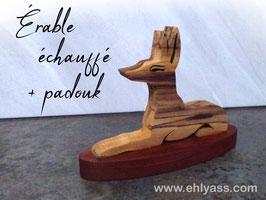 Sculpture Anubis couché