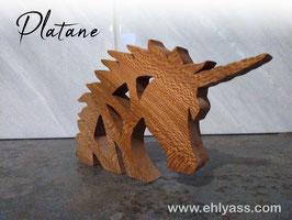 Sculpture Tête de Licorne