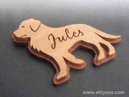 Plaque de porte Labrador