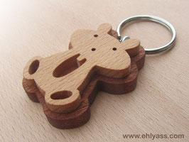 Porte-clés Hamster (2 bois)