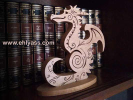 Sculpture Dragon Runes