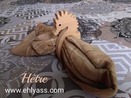 Rond de serviette Hippocampe (fin)