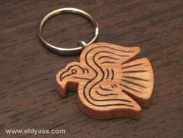 Porte-clé Corbeau viking