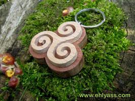 Porte-clés Triskell (2 bois)