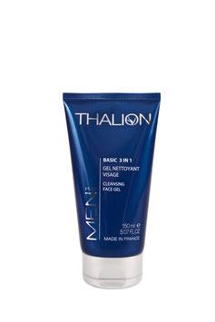 Basic 3 in 1 Gel nettoyant  For men Thalion  /  50 ml