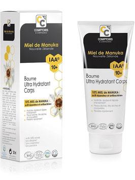 Baume corps ultra hydratant  certifié bio Ecocert au miel de manuka IAA10+ / 200ml