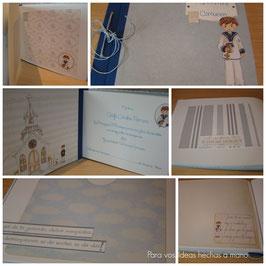 Álbumes para Comunión. Libros de firma.