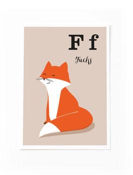 SALE - F wie Fuchs