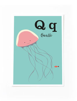 SALE - Q wie Qualle