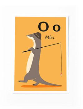 SALE - O wie Otter