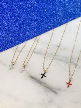 """collier croix """"guila"""""""